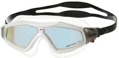 Speedo Rift Pro Mirror Mask Swimming Goggles(Orange, Black)