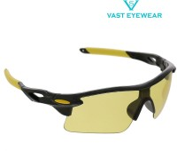 Vast Special Night Driving Biking 7 Layer Anti Glare Wrap Around Smart Cycling Goggles