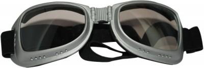 BikeStuff B-EG10 Camping & Hiking Goggles(Silver, Black)