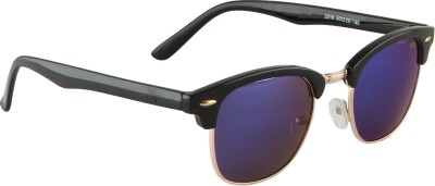 Vast Coool! Clubmaster Mirror Wayfarer Sunglasses