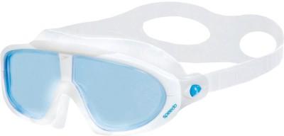Speedo Rift Swimming Goggles(Blue, White)