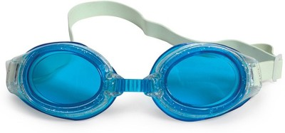 Poolmaster Blue Junior Sparkle Child Swimming Goggles