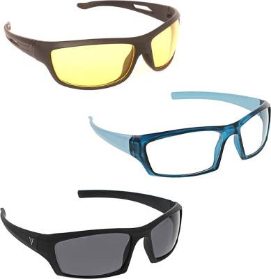 Vast New Day And Night Vision Car And Bike Driving Cricket Goggles