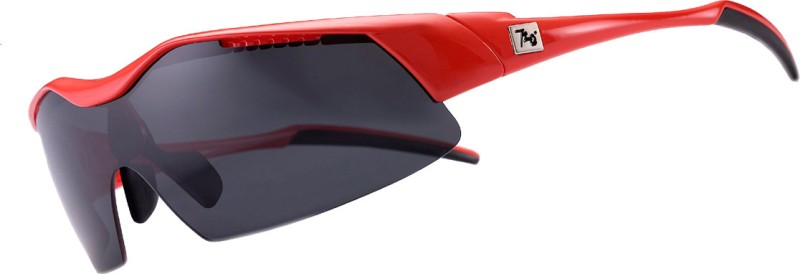 720 Armour Glossy Red New Hitman Eyewear And Sunglasses Cycling Goggles(Black)