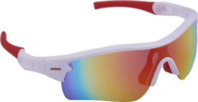 Omtex Galaxy Plus Red Cricket Goggles