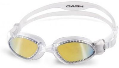 Head Superflex Mirrored White Swimming Goggles