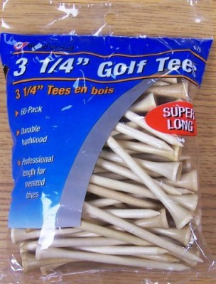 JEF WORLD OF GOLF Gifts and Gallery Golf Tees