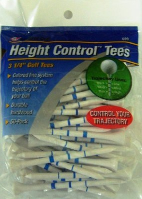 JEF WORLD OF GOLF Gifts and Gallery, Inc. Height Control Tees Golf Tees