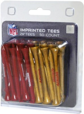 Team Golf NFL San Fransisco 49ers Team Tees Golf Tees