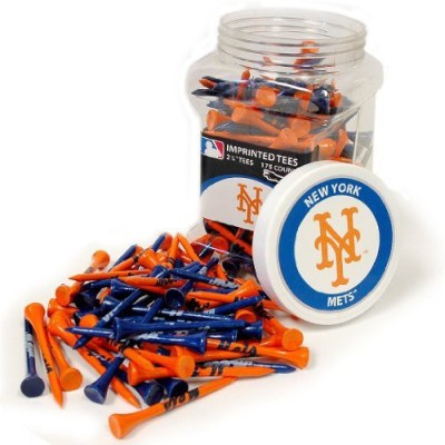 Team Golf MLB New York Mets Tee Jar Golf Tees