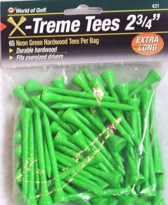 JEF WORLD OF GOLF Gallery, Inc. Extreme Tee Golf Tees