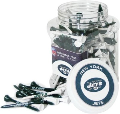 Team Golf NFL New York Jets Jar Golf Tees