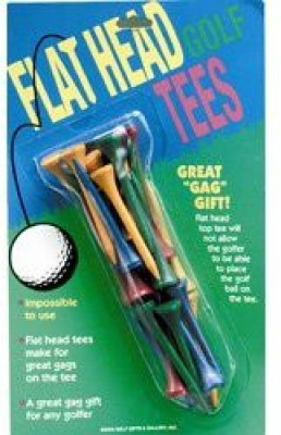 Golf Gifts & Gallery Flat Head Tees Golf Tees