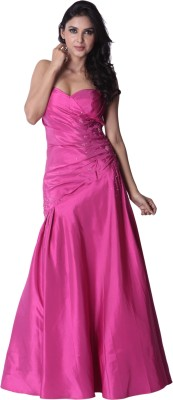 Trendy Divva Party Gown at flipkart