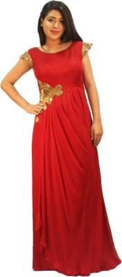 V Da Couture Western Gown
