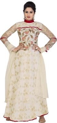 Melluha Fashion Jacquard Printed Salwar Suit Dupatta Material