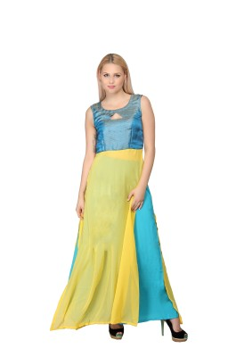Ethnic Route Rebellion Indowestern Gown