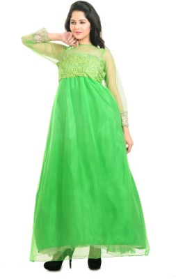 Aasia Couture Flared Gown