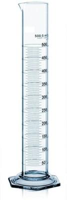 DULAB MC100 Borosilicate Glass Graduated Cylinder(100 ml)