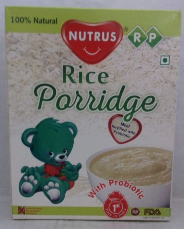 Nutrus Rice Porridge (pack of 2) Rice(450 g, Pack of 2)