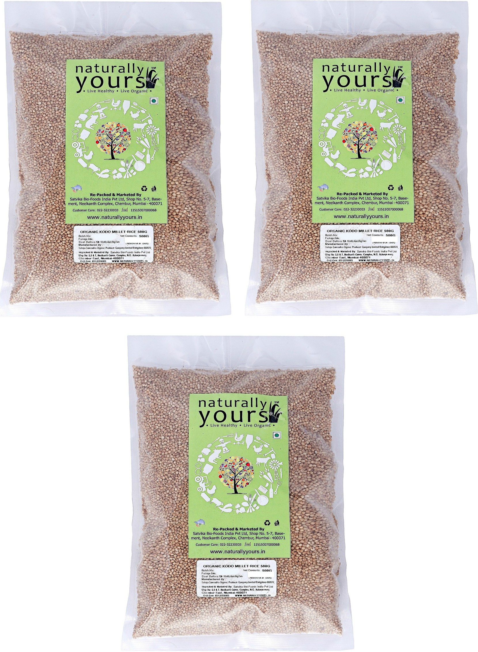Naturally Yours Organic Certified Kodo millet