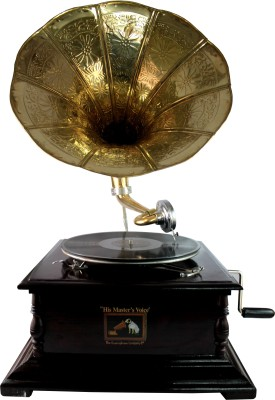 Interio Crafts Wooden Gramophone(Yes)