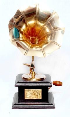 Vintage Crafts Wooden Gramophone