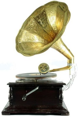 Interio Crafts Gold Gramophone