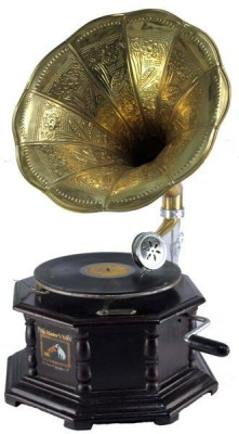 Interio Crafts Brass Gramophone