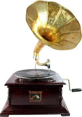Interio crafts Premium Wooden Gramophone