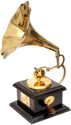 HALF PIZZA ARTS Brass Gramophone