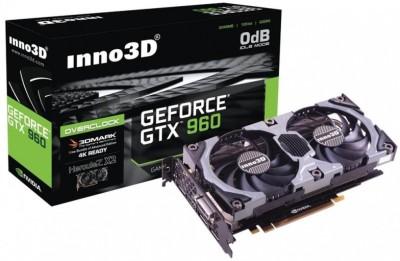 Inno3D NVIDIA GeForce GTX 960 OC 2 GB DDR5 Graphics Card