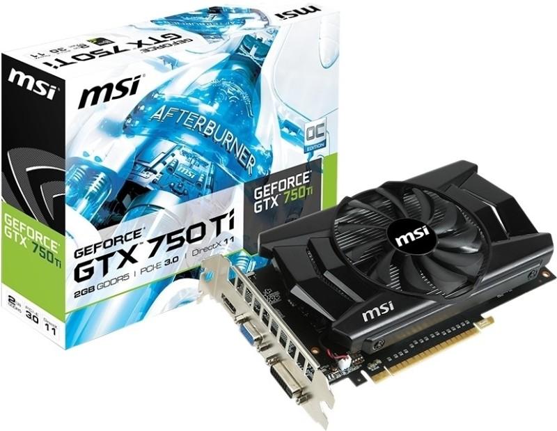 MSI GeForce GTX 750Ti 2 GB GDDR5 Graphics Card