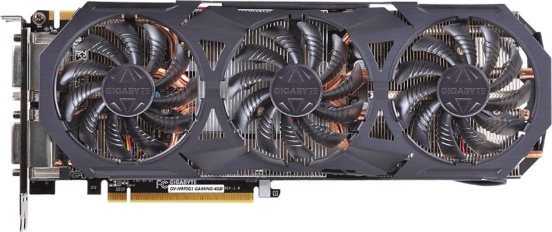 Gigabyte NVIDIA GV-N970G1 GAMING-4GD 4 GB GDDR5 Graphics Card