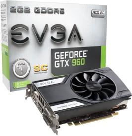 EVGA NVIDIA 02G-P4-2962-KR 2 GB GDDR5 Graphics Card