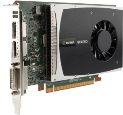 HP NVIDIA Nvidia Quadro 2000 1 GB DDR5 Graphics Card(Brown)