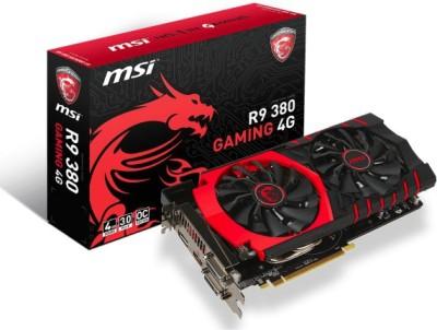 MSI AMD/ATI R9 380 GAMING 4G 4 GB GDDR5 Graphics Card