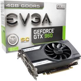 EVGA NVIDIA GeForce GTX 960 SC 4 GB GDDR5 Graphics Card
