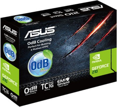 Asus NVIDIA 210-SL-TC1GD3-L 1 GB DDR3 Graphics Card