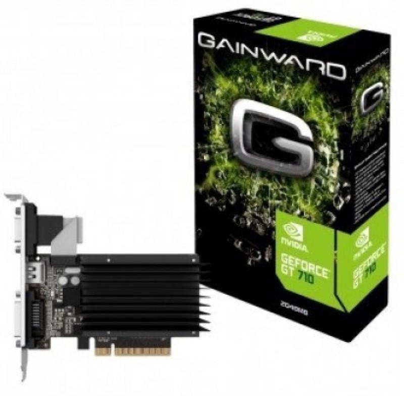 Gainward NVIDIA GeForce® GT 710 2 GB GDDR3 Graphics Card(Black)