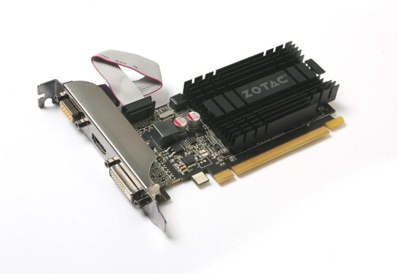 Zotac NVIDIA GeForce® GT 710 1 GB DDR3 Graphics Card(Black)