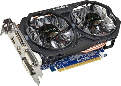 Gigabyte NVIDIA GV-N75TOC-2GI 2 GB GDDR5 Graphics Card