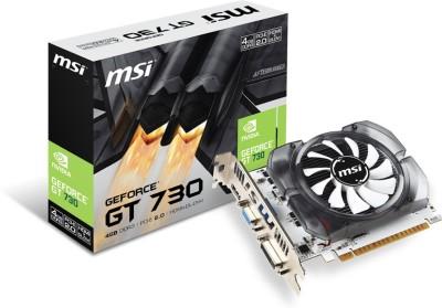 MSI NVIDIA N730 4 GB DDR3 Graphics Card