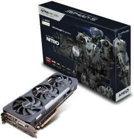 SAPPHIRE AMD/ATI AMD Radeon Nitro R9 390 8G with back plate 12 GB GDDR5 Graphics Card