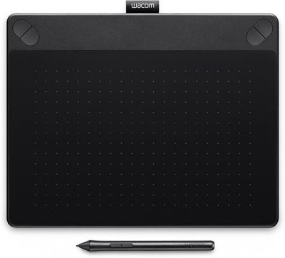 Wacom Intuos Art Pen & Touch (Medium) CTH-690/K0-CX (Black) 10.8 x 8.5 inch Graphics Tablet
