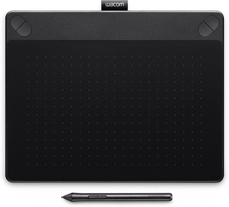 Wacom Intuos Art Pen & Touch (Medium) - Black CTH-690/K0-CX 10.8 x 8.5 inch Graphics Tablet(Black)