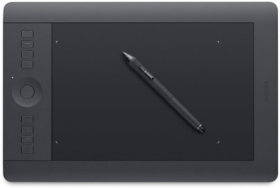 Wacom Intuos Pro PTH-851/K1-CX 19.11 x 6.4 Inch Graphics Tablet