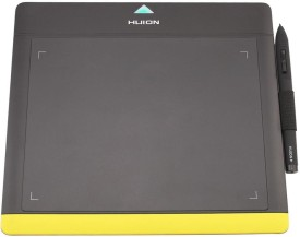 Huion 680TF-Black Yellow HUION-03 9.84 x 8.85 inch Graphics Tablet
