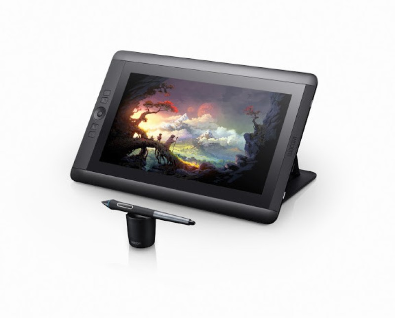 Wacom Cintiq 13HD DTK-1300 14.75 x 9.75 inch Graphics Tablet(Black)