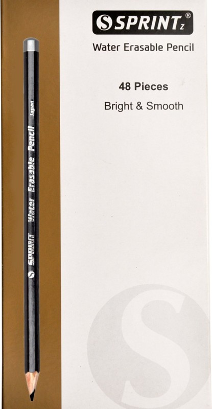 Sprintz Graphite Dark Grey Pencil(Pack of 48)